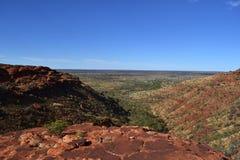 Parc national des Rois Canyon Wattarka images libres de droits