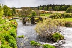 Parc national Devon de Postbridge Dartmoor photos stock