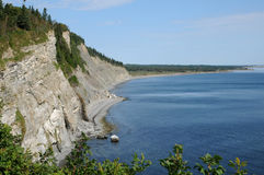 Parc National du Forillon in Gaspesie Royalty Free Stock Photography
