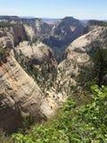 Parc national du ` s de Zion photographie stock libre de droits