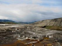 Parc national en pierre jaune Images libres de droits