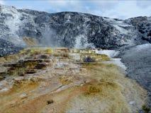 Parc national en pierre jaune Photo libre de droits