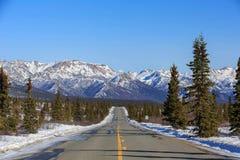 Parc national et conserve de Denali image stock