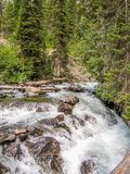Parc national grand de Teton au Wyoming images stock