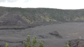 Parc national Hawaï de volcan banque de vidéos