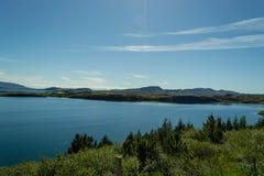 Parc national Islande d'été Image stock