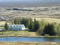 Parc national Islande de Thingvellir Photos stock
