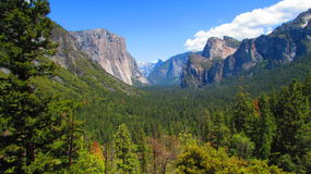 Parc national la Californie de Yosemite Photo libre de droits