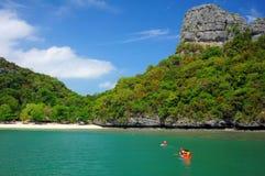 Parc national marin d'île d'Angthong Photo libre de droits