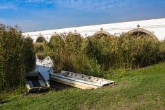 parc national Neuf-troué Hongrie de Hortobagy de pont images libres de droits