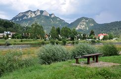 Parc national Pieniny, Slovaquie, l'Europe Photographie stock libre de droits