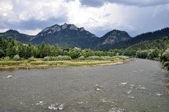 Parc national Pieniny, Slovaquie, l'Europe Photo stock