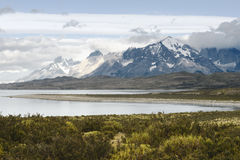 Parc national Torres del Paine, Patagonia chilien Image libre de droits