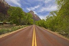 Parc national Utah Etats-Unis de Zion Photographie stock libre de droits