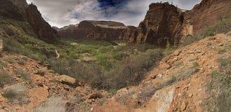 Parc national Utah Etats-Unis de Zion Photos stock