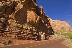 Parc national Utah Etats-Unis de Zion Photos libres de droits