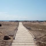 Parc naturel de Calblanque murcia l'espagne image stock