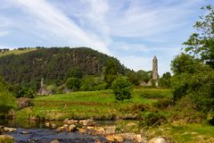 Parc naturel de Glendalough Irlande photos stock