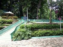 Parc naturel de Hinulugang Taktak dans la ville d'Antipolo de route de Taktak, Philippines Images libres de droits
