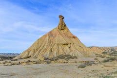 Parc naturel de reales de Bardenas en Navarra, Espagne images stock