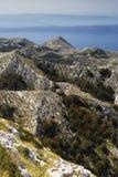 Parc naturel national Biokovo Photographie stock libre de droits