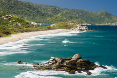 Parc naturel national Tayrona en Colombie Image stock