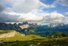 Parc naturel Sciliar-Rosengarten Images libres de droits