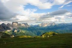 Parc naturel Sciliar-Rosengarten Image stock