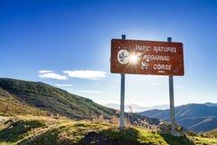 Parc Naturlig De Corse, Balagne, Korsika Royaltyfri Bild