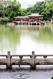 Parc occidental de lac Photo stock