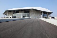Parc Olympique体育场在利昂,法国 免版税库存照片