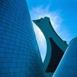 Parc Olympique,蒙特利尔 免版税库存图片