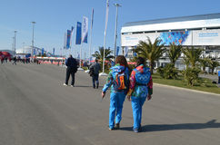 Parc olympique à Sotchi Photos stock