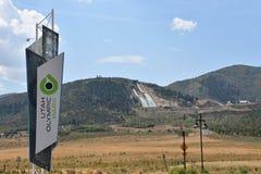 Parc olympique dans Park City, Utah Image libre de droits