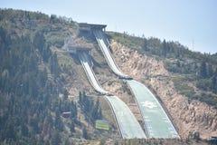 Parc olympique dans Park City, Utah Photographie stock libre de droits