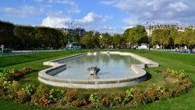 Parc in Paris stock photos