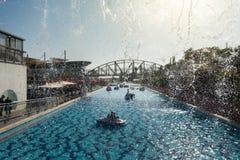 Parc Peres dans Holon Photo stock