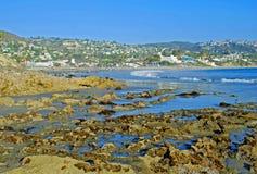 Parc principal de plage, Laguna Beach, la Californie. Images libres de droits