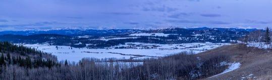 Parc provincial de Brown Lowery, Alberta, Canada photo stock