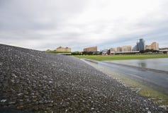 Parc près de Heydar Aliyev Center Photographie stock