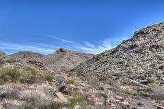 Parc régional de montagne blanc AZ Waddell de réservoir Images stock