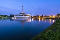 Parc royal de rama crépusculaire de roi Photo stock