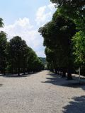 Parc Schonbrunn, attraction du ` s de Vienne photographie stock libre de droits