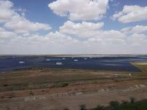 Parc solaire images stock