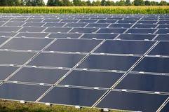 Parc solare Fotografia Stock Libera da Diritti