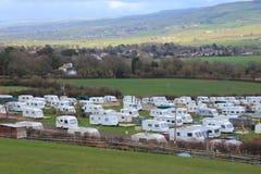 Parc statique de caravane Image stock