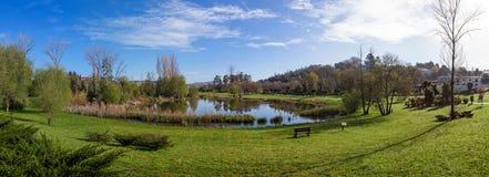 Parc urbain de Parque DA Devesa en Vila Nova de Famalicao, Portugal Image libre de droits