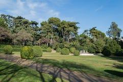 Parc von Pedralbes Barcelona Lizenzfreie Stockbilder