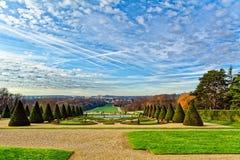 Parc von Sceaux, Paris, Frankreich stockbild