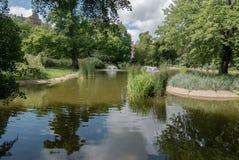 Parc Wilson Kasprzaka de Pozna Photographie stock libre de droits